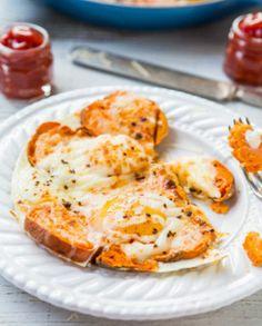 ¡Receta! Cacerola de batata con mozzarella y huevo: http://www.sal.pr/?p=94335