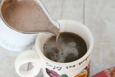 How to Make Your Own Homemade Mint Truffle Coffee Creamer, French Vanilla Creamer, Chocolate Almond Creamer, & Amaretto Creamer on MomAdvice.com.