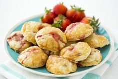 You only need 3 ingredients to make these Strawberry Hand Pies.