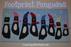 Footprint art!