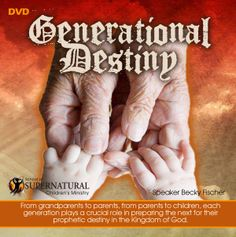A unique scriptural look at how each generation had a destiny to fulfill and how they were dependent on the generation before them to prepare them for it. This generation has a great prophetic destiny before it as well, but those of us who minister to them play a crucial role in preparing them for what they are to do. DVD or MP3 download!