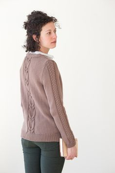 lenora by cecily glowik macdonald / in quince & co. lark