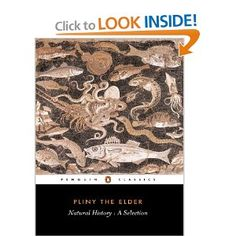 Pliny The Elder Natural History A Selection