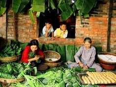 New Year Celebration Feast in Vietnam