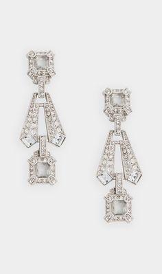 Art Deco style Earrings//