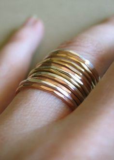 stacking rings... Want want want