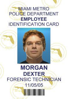Dexter Morgan ID