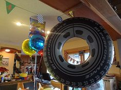 ID Mommy: DIY Monster Truck Birthday Party! They have these at Walgreens