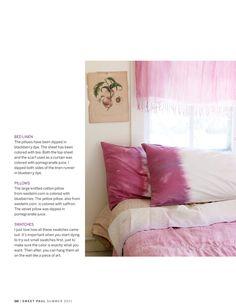 Dyeing pillows #diy tie dye