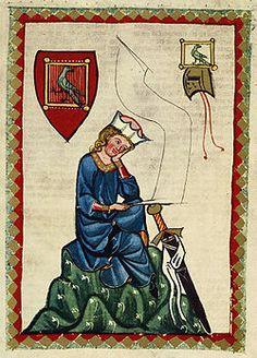 Minnesang  1200 -1400  Walther von der Vogelweide   Hartmann von Aue Wolfram von Eschenbach