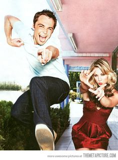 OMG Jim and Kaley cute as ever!!