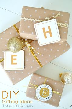 diy gifting ideas at tatertots and jello