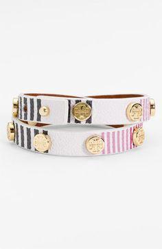 Tory Burch Logo Wrap Bracelet | Nordstrom.