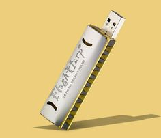 too cute! a Harmonica USB