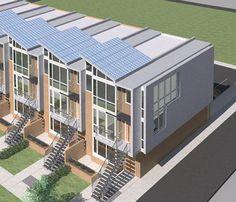 First Look at Sleek Solar Condos Going Up Near H Street NE - DC