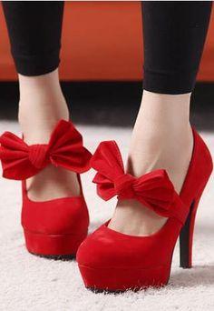High Heel Court- Platform Butterfly Shoes