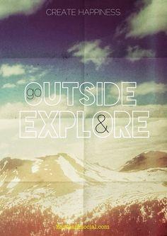 Run. Explore. Enjoy.