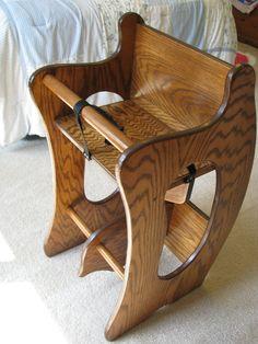 3 in 1 High Chair Desk Rocking Horse