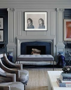 The living room of a San Francisco apartment by designer Ken Fulk, from the Apr/May edition of Interiors magazine