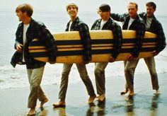 The Beach Boys. Noted for their unsurpassed vocal harmonies created by the band's genius leader, Brian Wilson, their songs, such as Surfin' USA, Help Me Rhonda, California Girls, and God Only Knows, epitomized the Southern California Lifestyle.