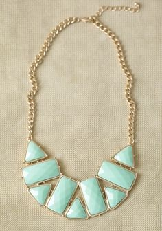 Ocean View Necklace | Modern Vintage Jewelry