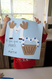 "If You Give a Moose a Muffin ""M"" project"