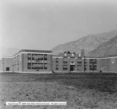 Farrer Jr. High School p.1 :: Utah State Historical Society - Classified Photographs