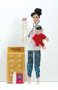 Doctor Yue-Sai Play Doll - Alternatives to Barbie
