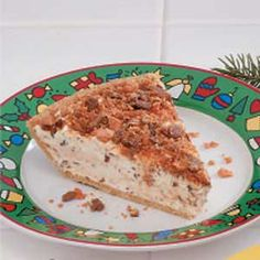 Candy Bar Pie. My current favorite no-bake dessert. 4 ingredients including the crust and your preference of candy bar. Mine's Heath.