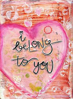 I belong to you *** thanks for pinning me <3 ***