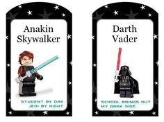 Printable Star Wars tags.