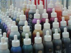 e.how.com shares how to make alcohol inks.