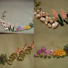 canasta de flores | moldes | Pinterest