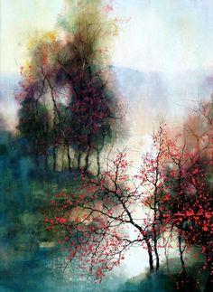 Z.L. Feng: watercolor landscape