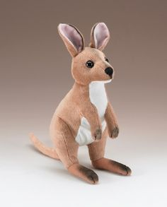 Large Wallaby Stuffed Animal (13-inch) at theBIGzoo.com, an animal-themed superstore.