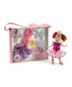 Take a look at this Fancy Nancy Dress-Up Cloth Doll & Tote Set by Madame Alexander on #zulily today!