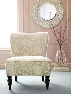 The classic Addyson Chair is a pretty way to combine style and comfort