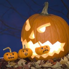 Clever front-yard decoration: Shish-Ka-Boo Hungry Jack-o'-Lantern