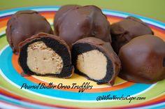 Peanut Butter Oreo Truffles (No Bake Dessert)