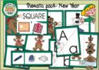 New Year thematic pack