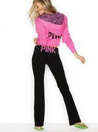 i <3 victorias secret pink. Perfect weekend wear!