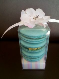 French macaron party favor
