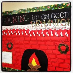 Cute Christmas bulletin board!