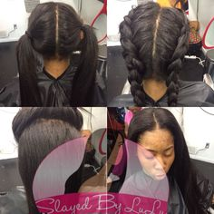 Styling Ideas For The Vixen Sew In - http://www.blackhairinformation.com/community/hairstyle-gallery/weaves-extensions/styling-ideas-vixen-sew/ #weave #extensions #vixensewin