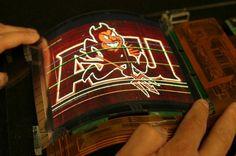 7.4-inch Flexible OLED Display