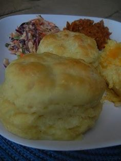 Ruth's Diners Mile High Biscuits - Previous Pinner said These are hands down the softest, chewiest, most moist biscuits you will find! My go-to biscuit recipe.