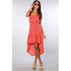 ONeill The Sunkissed Dress in Watermelon,Dresses for Women $50.00