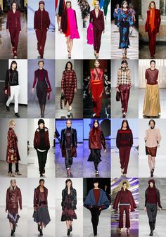 Wearing Dark Red in Fresh Ways for Fall