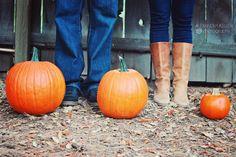 fall pregnancy announcement | fall pregnancy announcement | Creative Pregnancy Announcements