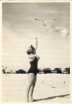 St. Petersburg Beach, 1939. #bagnivirginia #beach #loano #liguria #italia